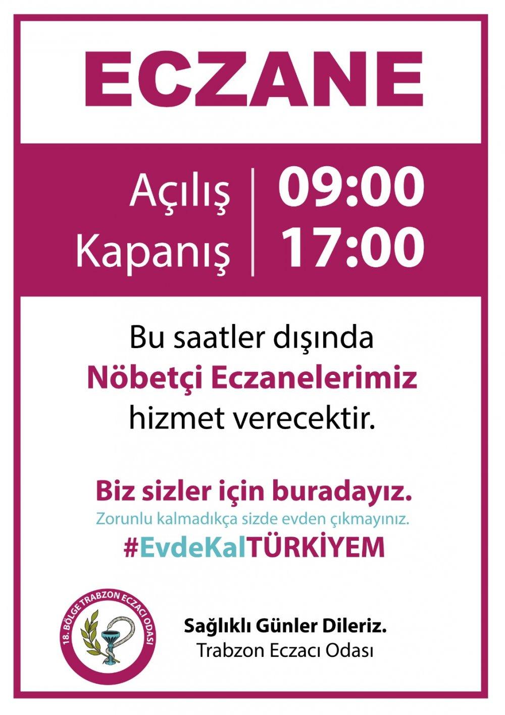 Trabzon'da önemli gelişme! Saatleri değişti