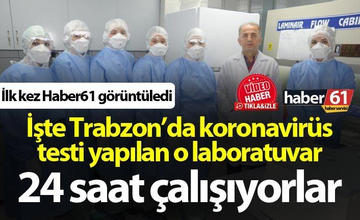 Trabzon'da kaç koronavirüs testi yapıldı?