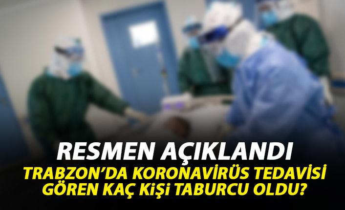 İşte Trabzon'un Koronavirüs raporu! Ölüm yok iyileşenler artıyor!