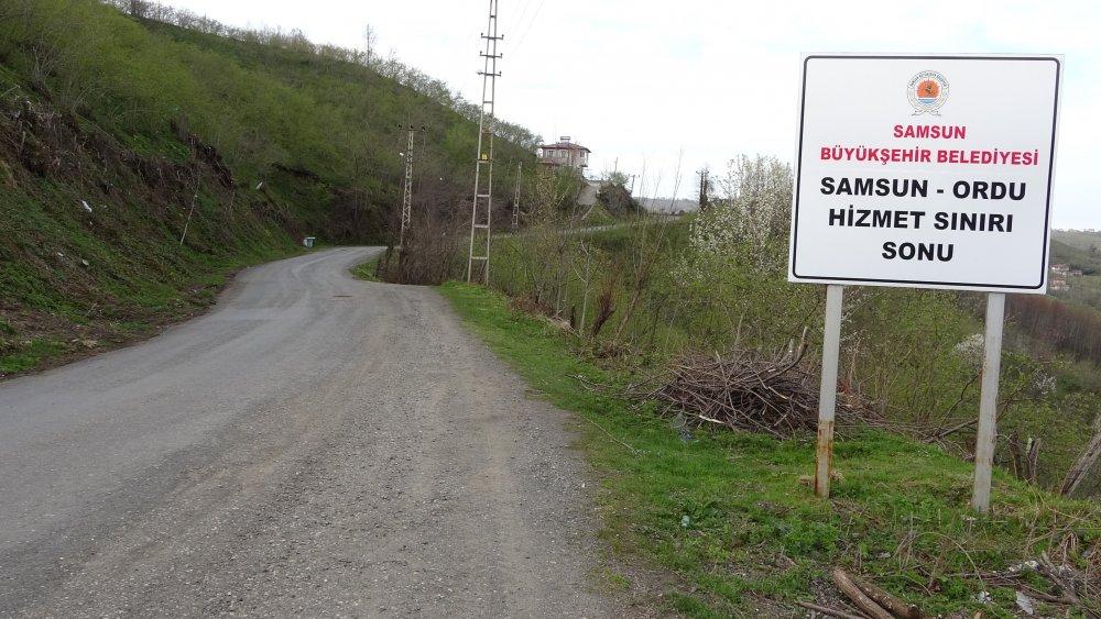 İki büyükşehrin arasında geçişin 5 adım olduğu mahalleliler, 'şehirler arası yasaktan' memnun.