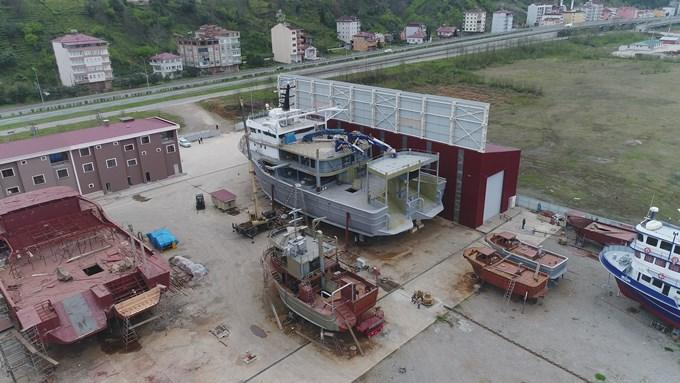 Alanında Türkiye'nin en yükseği ve en genişi! Trabzon'da üretiliyor