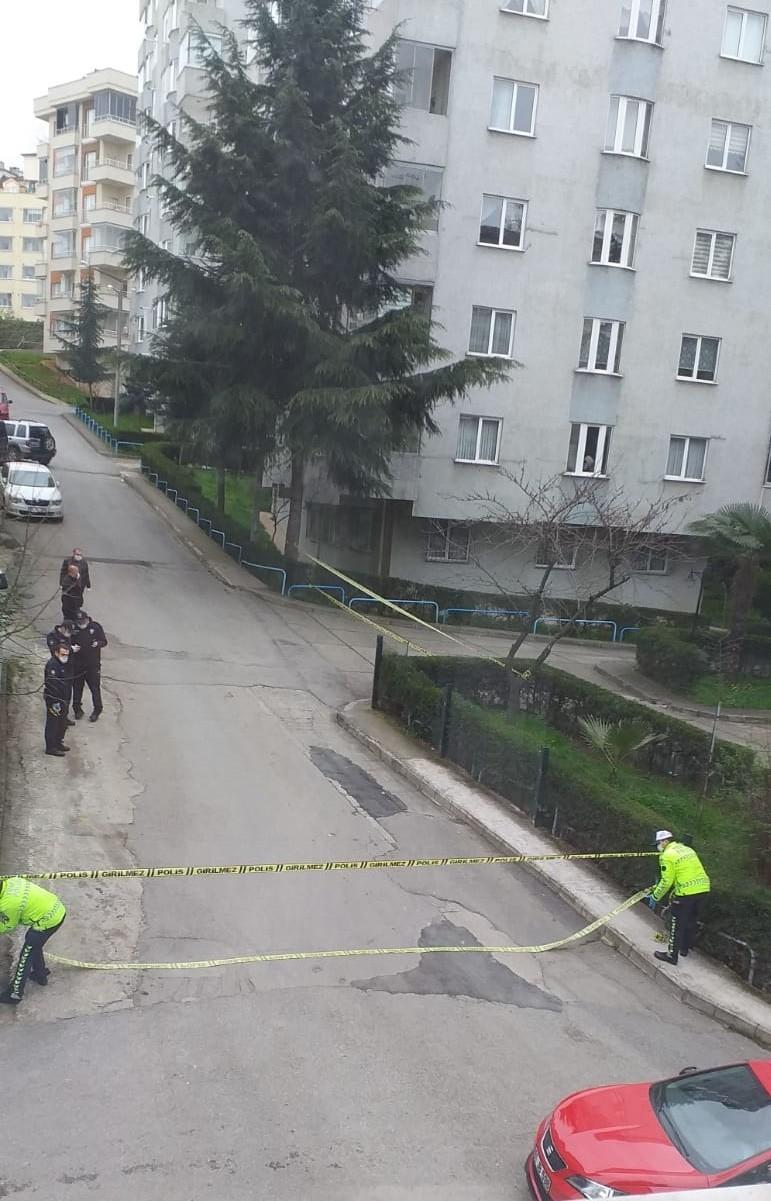 Trabzon'da 3 bloklu bir site karantinaya alındı