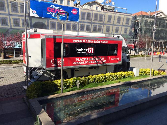 Haber61 duyurmuştu Trabzon'da hazırlıklar tamamlandı - Koronavirüs tedavisinde kullanılacak.