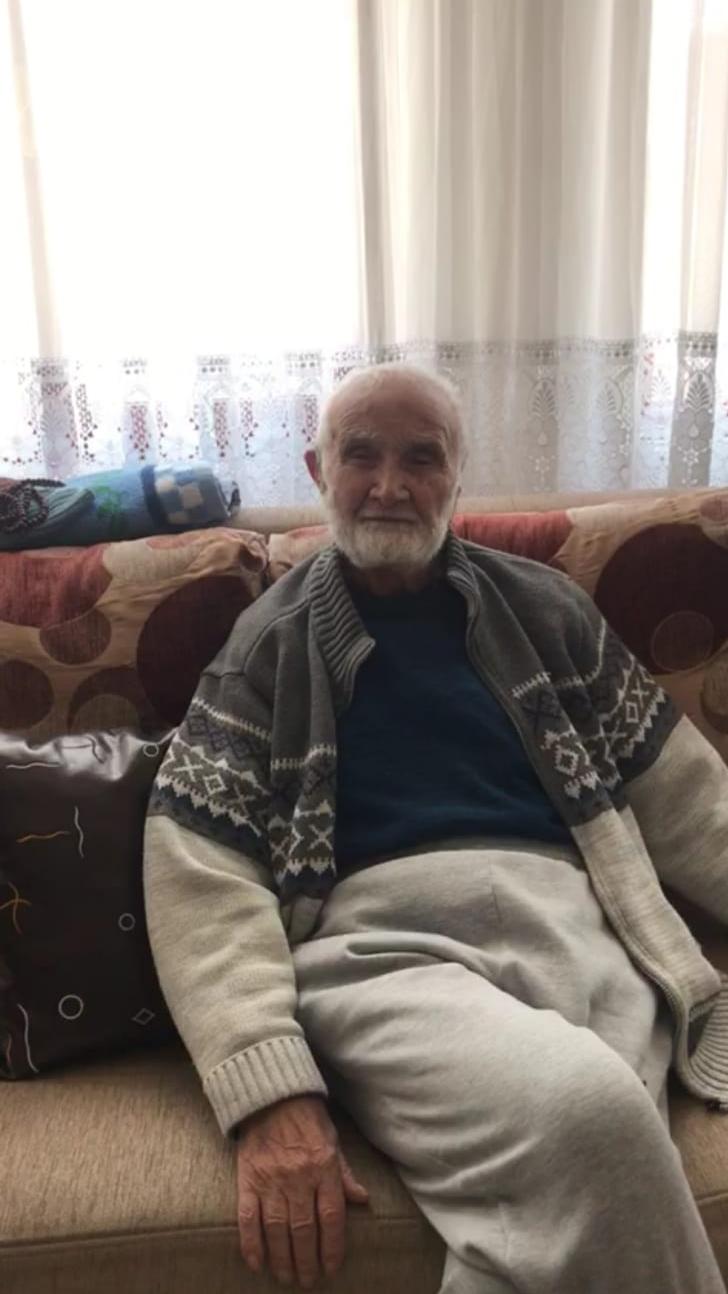 96 yaşında koronavirüsü yendi, sağlıklı yaşamın sırrını anlattı