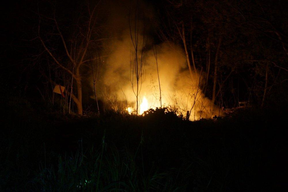 Önce patlama, sonra yangın