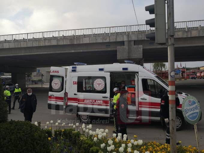 Trabzon'da sokağa çıkma yasağında kaza: 2 yaralı