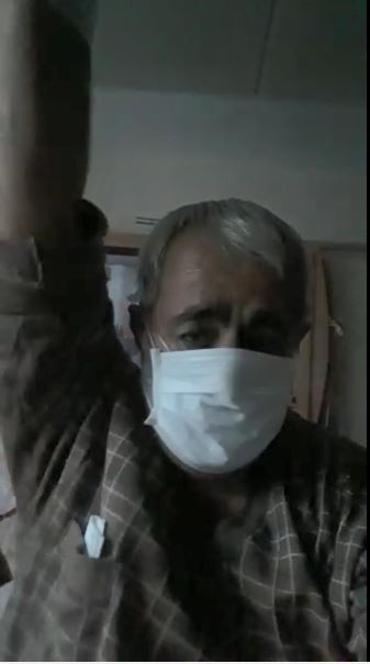 Koronavirüs hastasından umut dolu paylaşım