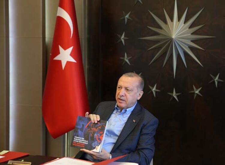 """Cumhurbaşkanı Erdoğan'dan flaş koronavirüs açıklaması: """"Yatay seyre geçmeye başladık"""""""