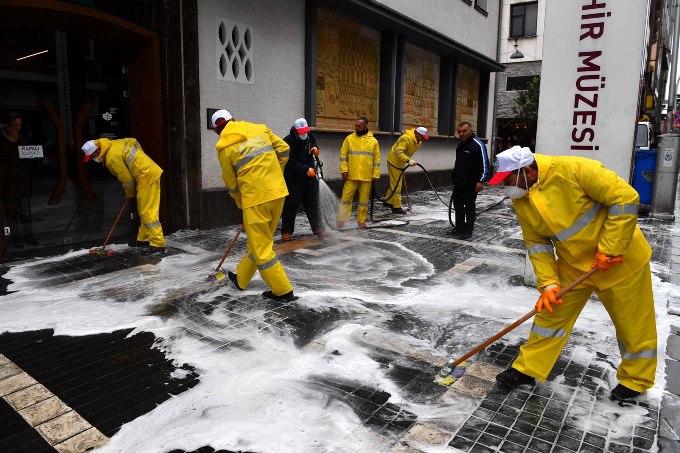 Dezenfeksiyon için kullanılan kimyasallarla ilgili uyarı