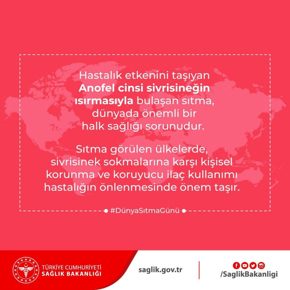 Trabzon il Sağlık Müdürlüğü o hastalığa karşı uyardı