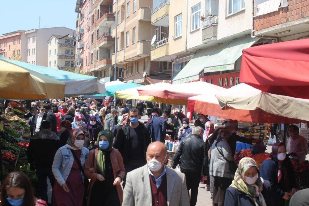 Pazarda Ramazan ve yasak yoğunluğu
