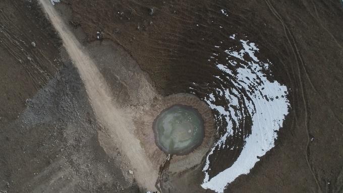 Günlerce konuşulan Dipsiz Göl'den haber var!