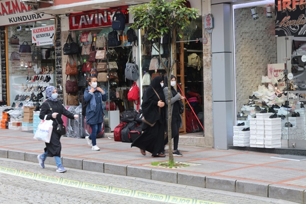 Rize'de maske takmayan kişilere ceza yağdı