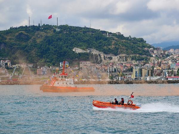 Trabzon'da Kabotaj Bayramı kutlandı