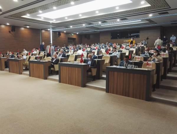 Ortahisar Belediye Meclis toplantısı yapıldı