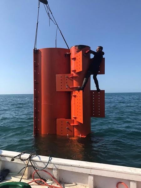 Trabzon'da deniz dalgalarından elektrik üretilecek