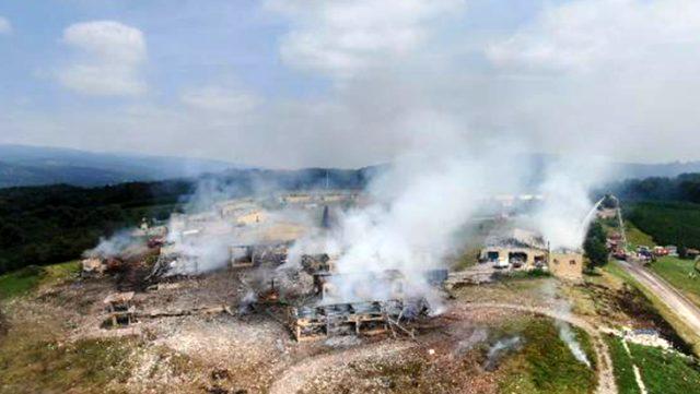 Sakarya'da havai fişek fabrikasında patlama! 4 Ölü 97 yaralı