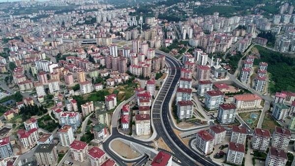 Trabzon'da Kanuni Bulvar Projesi trafiği rahatlattı