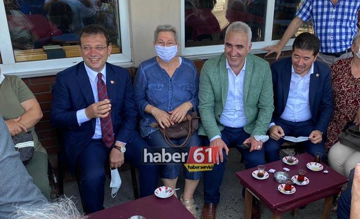 Ekrem İmamoğlu Trabzon'da geleneği bozmadı