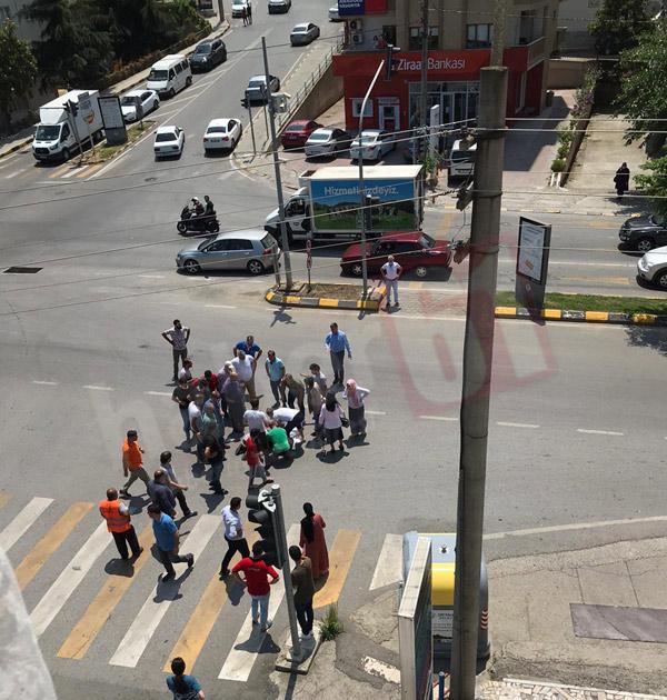 Trabzon'da yaya geçidinde kaza: 1 yaralı