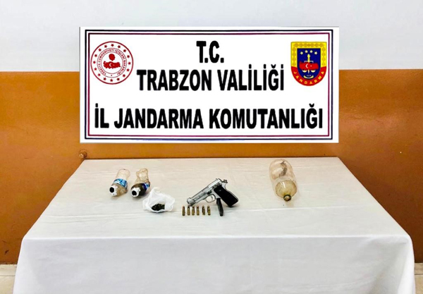 Trabzon'da iki ilçede uyuşturucu operasyonu