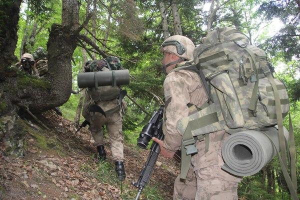 JÖH'ler Doğu Karadeniz'de operasyonda