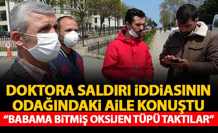 Trabzon'da doktora oksijen tüpüyle saldırmıştı! Yargılamasına başlandı