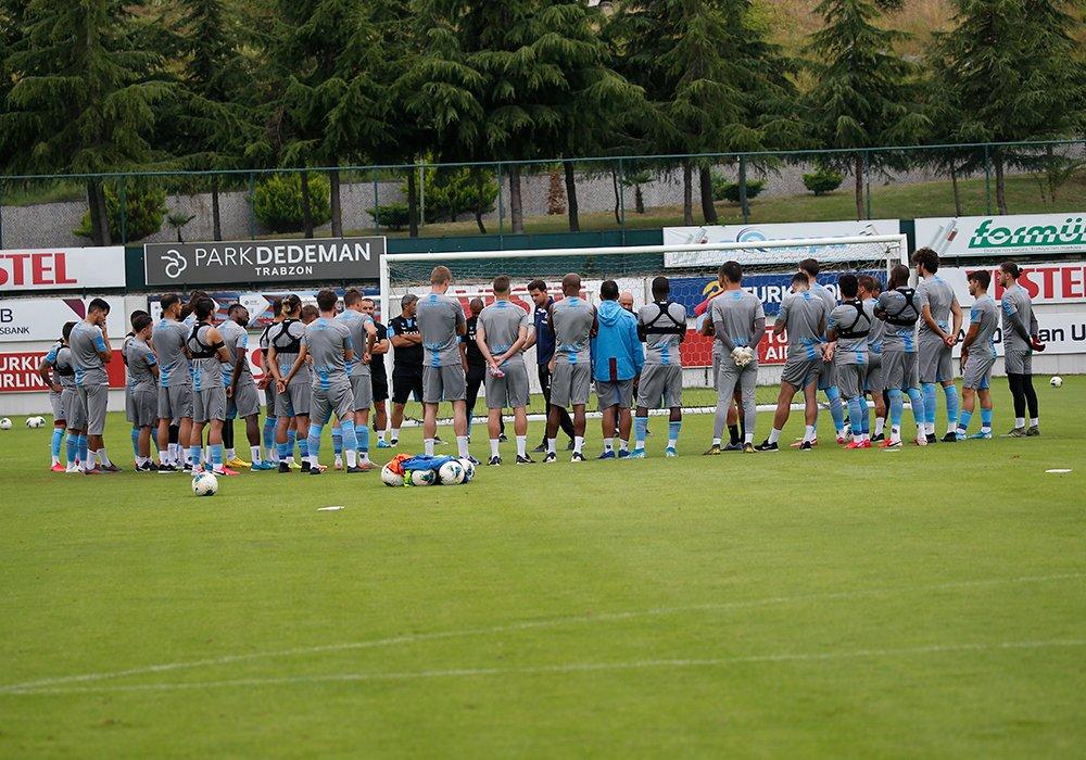 Trabzonspor Konyaspor hazırlıklarına başladı
