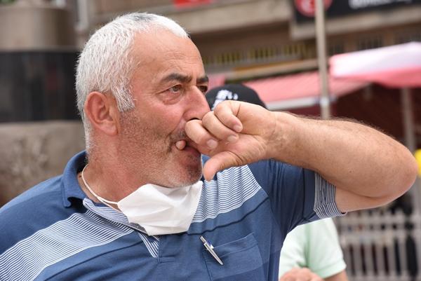 """Giresun'da 15 Temmuz'a """"ıslık dili"""" ile protesto"""