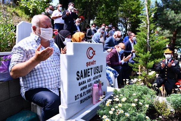 Trabzon'da şehitler unutulmadı