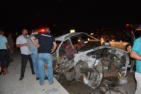 İki ayrı kazada 9 yaralı
