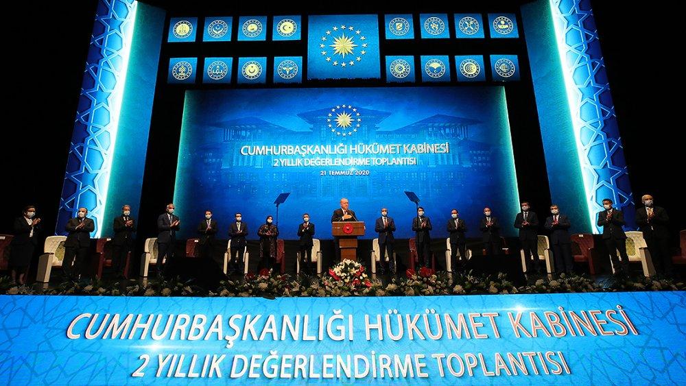 Cumhurbaşkanı Erdoğan 2 yılı değerlendirdi