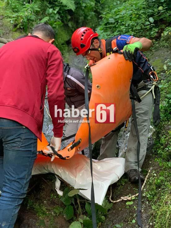 Trabzon'da feci kaza:1 ölü 5 yaralı
