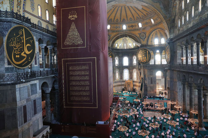 Ayasofya-i Kebir Cami-inde ilk namaz