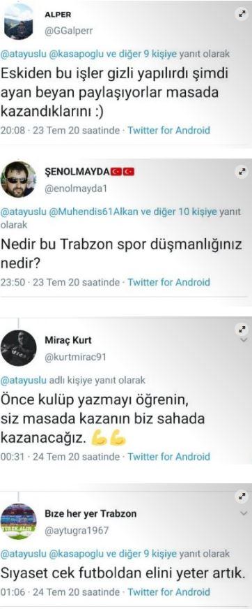 Milletvekilinin sözleri Trabzonspor taraftarını kızdırdı