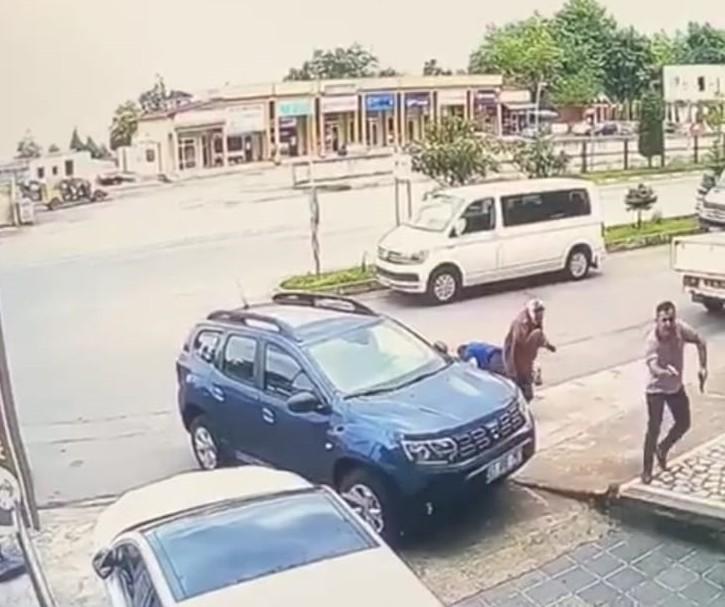 Trabzon'daki cinayet anının görüntüleri ortaya çıktı
