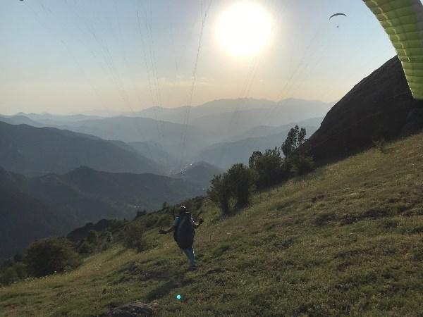 Artvin'de Yamaç Paraşütü rotaları belirleniyor