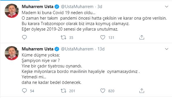 Eski başkan Usta'dan tepki: Trabzonspor buna imza atmış olamaz