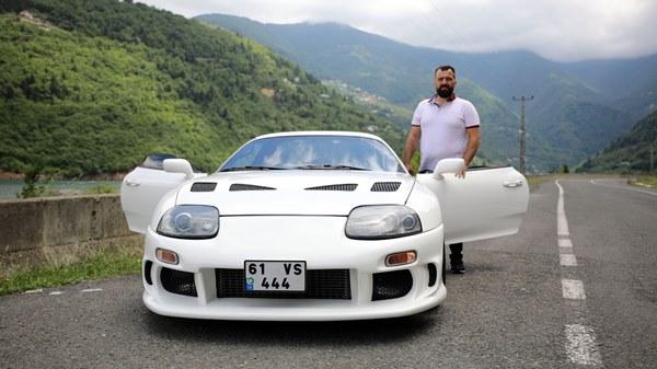 Trabzon'da bir kişi 126 bin liraya aldığı spor aracı 700 bin liraya modifiye etti