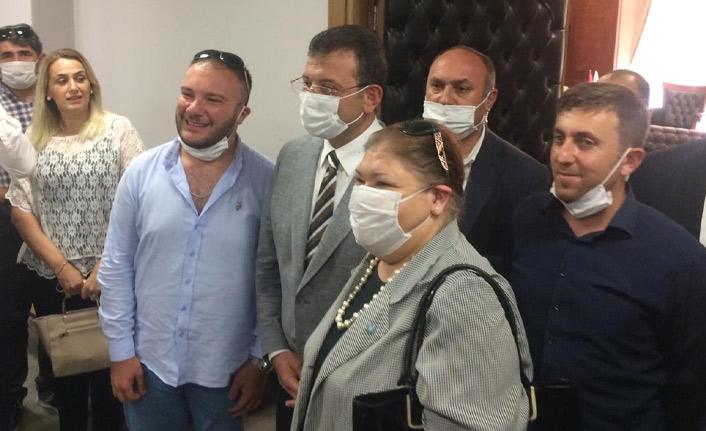 Ekrem İmamoğlu Trabzon'a geldi