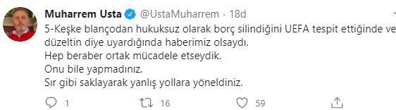 Eski başkan Usta'dan Trabzonspor yönetimine eleştiri: UEFA'yı yanılttılar!