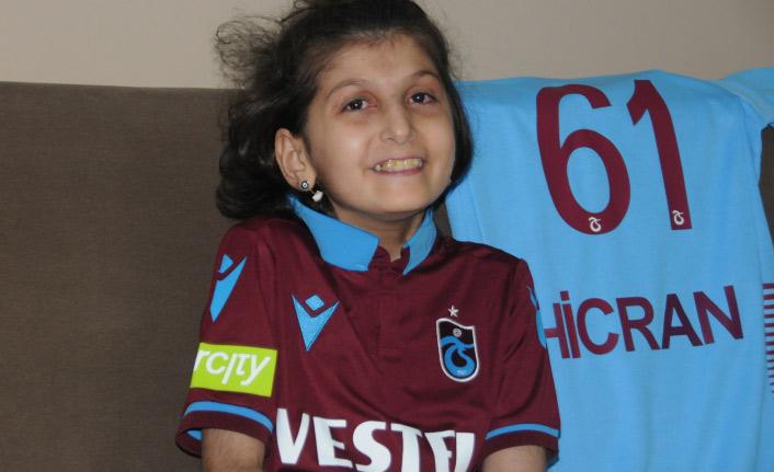 Trabzonspor'un tanıtımında yer alan Hicran: Hayatım boyunca unutmam