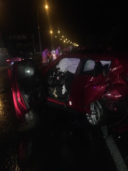 Ordu'da trafik kazası: 9 yaralı