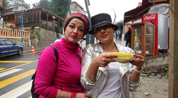 Ayder Yaylası'na bayramda tatilci akını