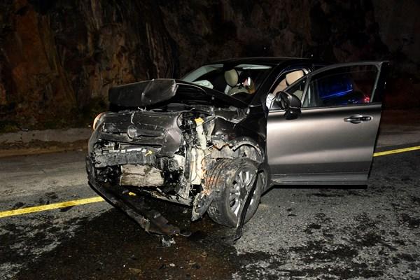 Zigana'da kafa kafaya çarpıştılar: 1 Ölü 4 yaralı