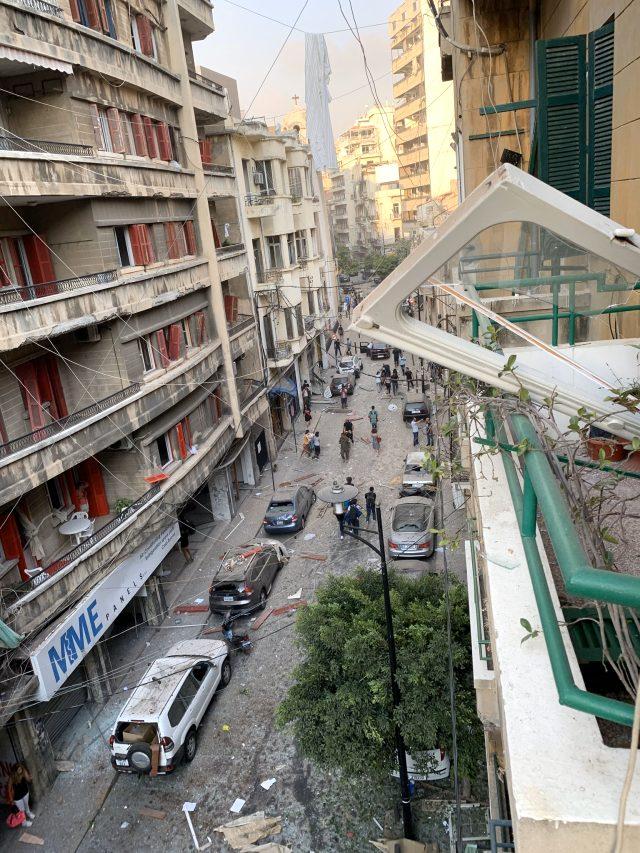 Lübnan'ın başkenti Beyrut'ta büyük patlama