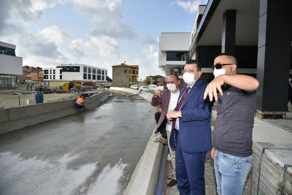 Trabzon'da Pazarkapı yeni çehresine kavuşuyor
