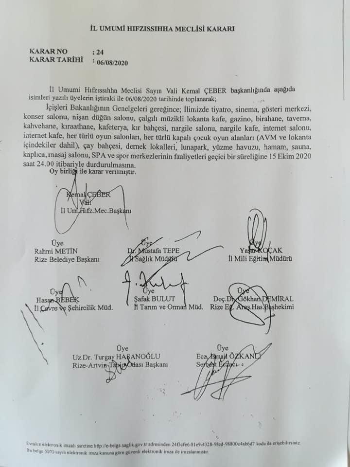 Rize'de sahte belge mahkemelik oldu! Valinin imzası taklit edildi