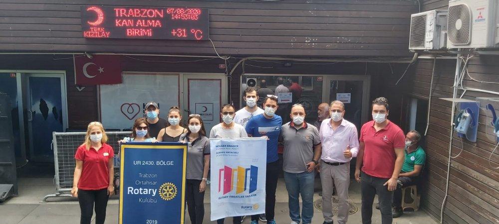 Trabzon Ortahisar Rotary Kulübü basınla buluştu! Trabzon'da önemli çalışmalar
