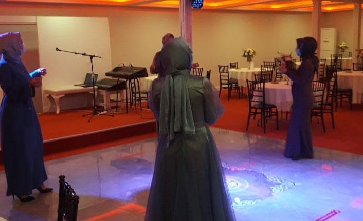 Zabıtadan düğün salonu denetimi
